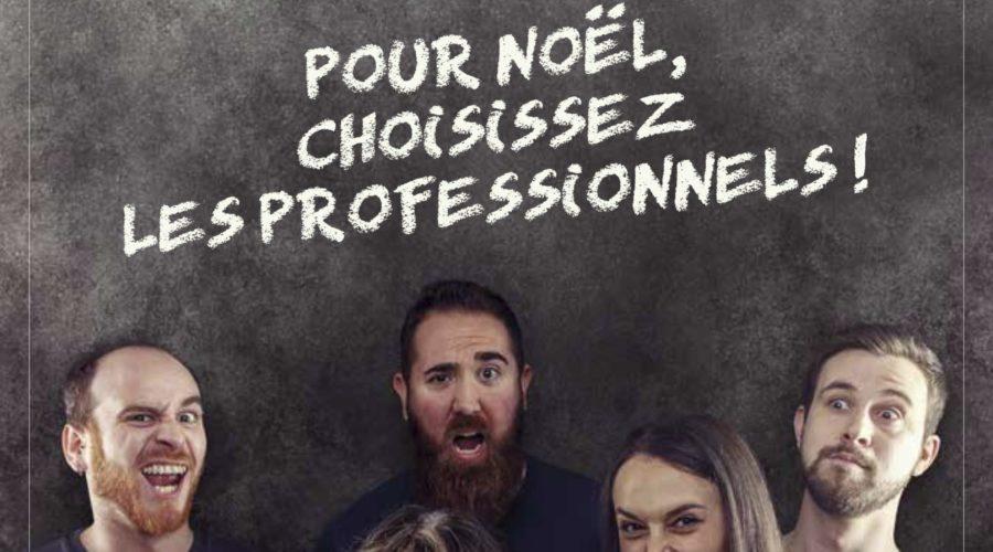 Pour Noël, choisissez les professionnels – Boucherie Chevallier