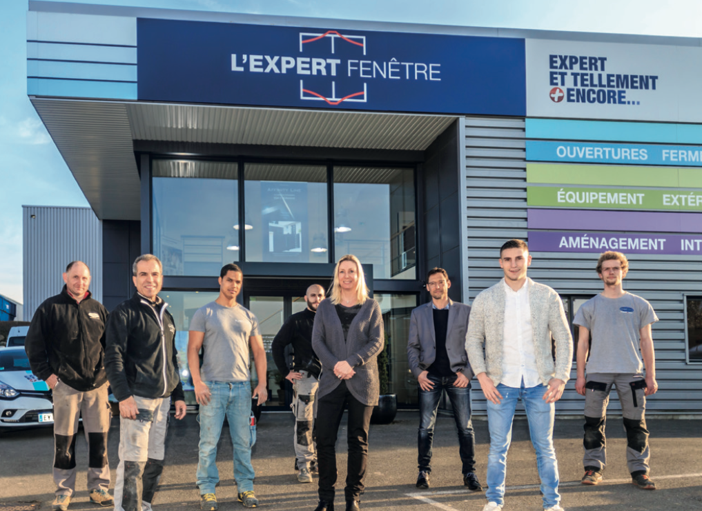 Lexpert Fenêtre Sengage Sur Un Service De Qualité Le Magazine