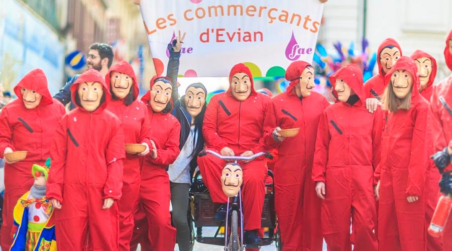 FAE, les commerçants d'Evian en plein dynamisme .