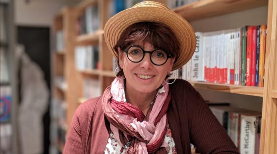 Véronique Kiry, librairie le Muratore à Evian.