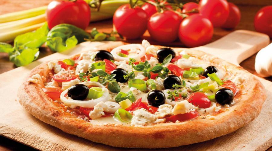 Les pizzas italiennes faites par des italiens avec des produits italiens.