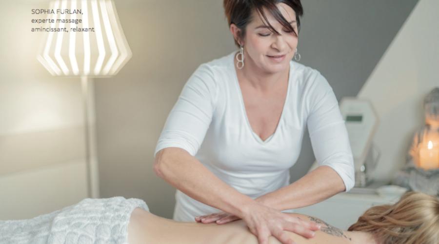 Sophia Furlan, le massage amincissant sa spécialité depuis plus de 15 ans.