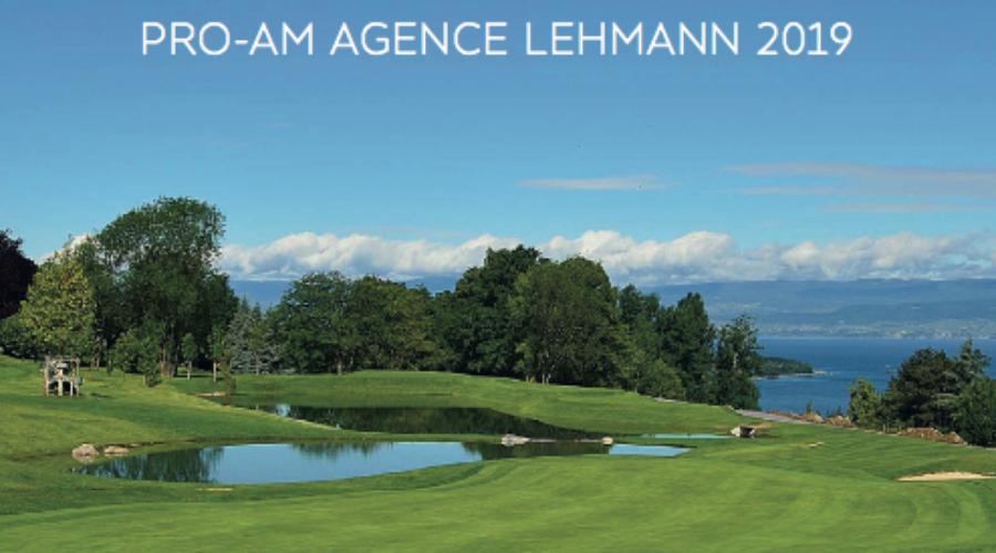 PRO-AM challenge Golf avec Lehmann Immobilier à Evian-les-bains.