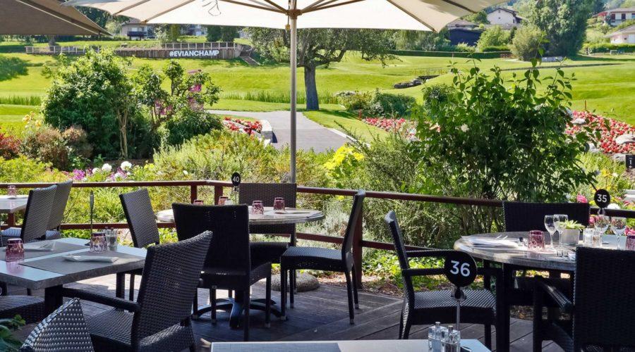 Nul besoin d'être golfeur pour découvrir la cuisine gourmande du Chalet du Golf à Evian
