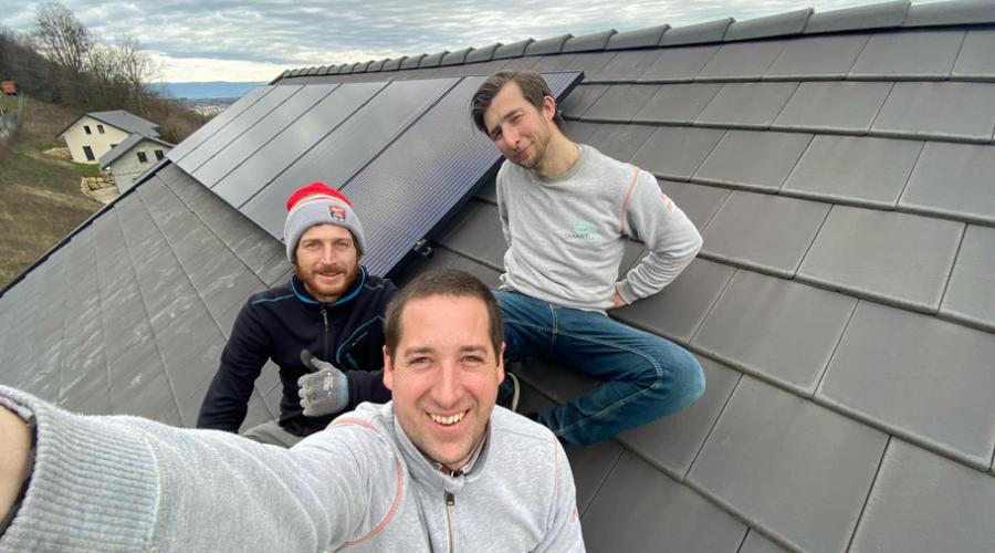 Geoffrey Roche, de Smart TO, spécialiste Photovoltaïque